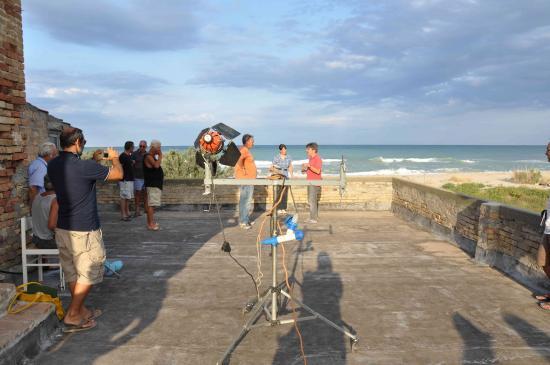 Blasi prepara l'intervista sulla liquirizia -2  - Foto M. Pavoni